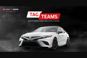 Teamdigital – Toyota Tag Teams Monster Energy Nascar Cup Series  Sweepstakes