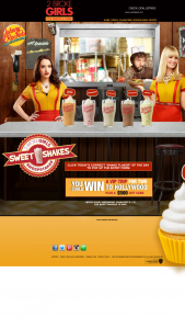 Warner Bros – 2 Broke Girls Johnny Rockets Sweet Shakes Sweepstakes