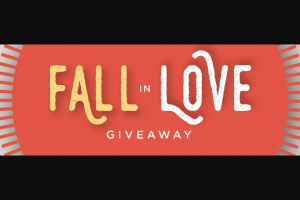 Weespring – 2019 Fall In Love Giveaway Sweepstakes