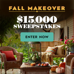 Meredith – Better Homes & Gardens – Win $15,000 for a fall makeover