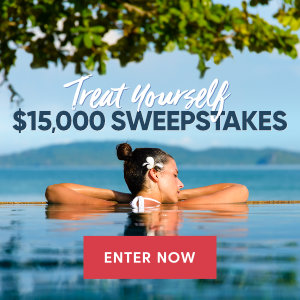 Meredith – Better Homes & Gardens – Win $15,000 to treat yourself