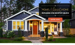Meredith – Better Homes and Gardens – Win a $25,000 check
