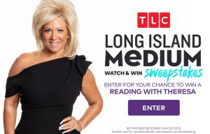 TCL Me – Watch & Win a trip for 2 to New York, 2-night accommodation PLUS a reading with Theresa Caputo