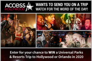 Access Hollywood – Halloween Horror Nights – Win a four (4) day