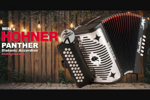 American Musical Supply – Hohner Panther Accordion Giveaway – Win Hohner's Panther Diatonic Accordions
