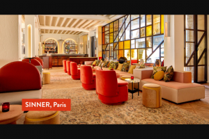 Domino – Dream Trip To Paris Sweepstakes