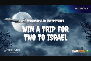 El Al Israel Airlines – Facebook Matmid 2019 Contest  Spooktacular Sweepstakes