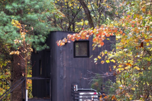 Getaway House – Ultimate Fall Escape $2000 Giveaway – Win 2-night Getaway Stay ($500 value) Two Lifetime Subscriptions to Journo ($598 value) $300 Gift Card to W&P $400 Gift Card to ModCloth Cairn Obsidian Collection ($250 value)