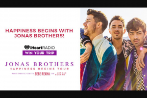 Iheart – Happiness Begins With The Jonas Brothers Sweepstakes