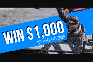 Major League Fishing – Venmo $1000 Giveaway – Win $1000 to be paid using the Venmo platform
