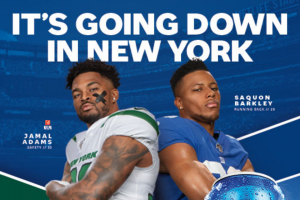 Pepsi – New York Flag Football  – Win POOL One flag football game experience for winner and one guest 18 or older on 11/18/19 in East Rutherford NJ
