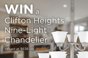 Progress Lighting – Clifton Heights Collection Sweepstakes