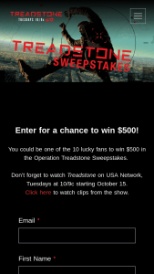 Universal Television Networks – Operation Treadstone – Win to each Winner