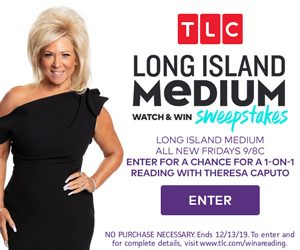 TLC me – Watch & Win a trip for 2 to New York PLUS a reading with Theresa