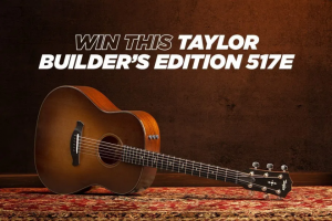 Acoustic Guitar – Taylor Builder's Edition 517e – Win the Taylor Builder's Edition 517e in Wild Honey Burst (MSRP $ 2999).
