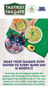Avocados From Mexico – Tastiest Tailgate Sweepstakes