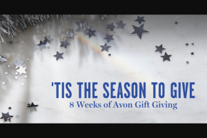 Avon – Holiday Sweepstakes Weekly Giveaway Sweepstakes