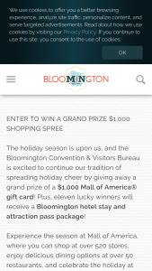 Bloomington – 2019 Winter Wonder-Grand Sweepstakes