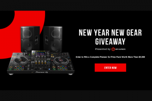 Bpm Supreme – New Year New Gear Giveaway Sweepstakes