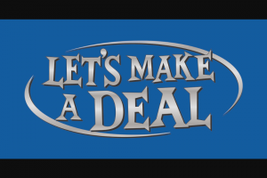 CBS – Let's Make A Deal Online Giveaway – Win ARV of US$100.00 5th Sweepstakes (1) iHome iBTW38 Alarm Clock