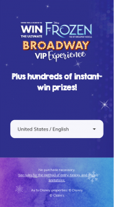 Claire's – Ultimate Broadway Experience – Win a 5-day / 4-night trip for four (4) to New York City