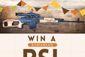 Classic Firearms – Win A Romanian Psl-54 Rifle W/ Optic – Win a Romanian PSL-54 Rifle w/ Optic approximate retail value $2200.