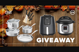 CNET And Chowhound – Thanksgiving Giveaway Sweepstakes