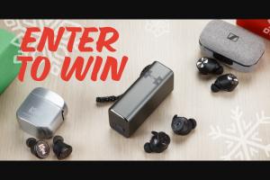 Crutchfield – True Wireless Great Gear Giveaway Fall 2 2019 – Win one pair of the Sennheiser Momentum True Wireless headphones