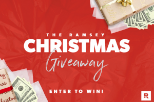 Dave Ramsey – Christmas Cash Giveaway – Win a check $5000 USD (5) Entrants will receive a check $500 USD