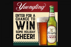 Dg Yuengling & Son – Yuengling Spread Some Cheer – Win ONE (1) Holiday Grand Prize Pack