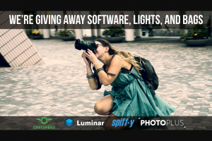 Diy Photography – Software Lights And Bags Sweepstakes