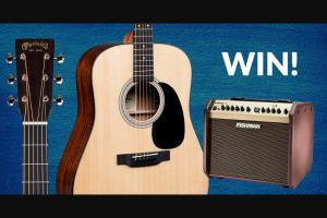 Fishman – Martin Acoustic & Fishman Loudbox Mini Contest – Win Martin D-12E Dreadnought Acoustic Guitar and one Fishman Loudbox Mini Amplifier
