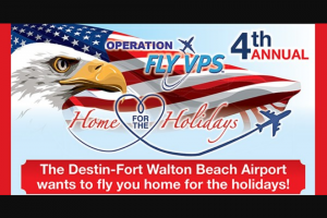 Gatehouse Media – 4th Annual Operation Fly Vps Home For The Holidays Sweepstakes