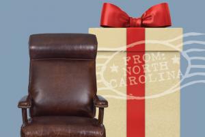 Hancock & Moore – 2019 Holiday Giveaway – Win includes Runyon Swivel-tilt Chair