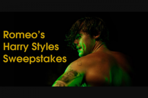 Iheart – Most Requested Live With Romeo Harry Styles – Win three day/two night trip for Winner and one guest to see Harry Styles perform at The Forum in Los Angeles California on December 13 2019.