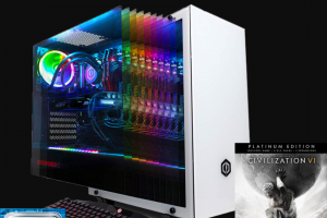 Intel – 2k Games Civilization Vi Gathering Storm – Win of an Intel 9th Gen Core i9 Gaming PC and Civilization VI Platinum Edition LC (ARV $2000).