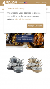 Meyer – 2019 Anolon Gourmet Cookware Home For The Holidays – Win one (1) Anolon Advanced Home Cookware Set in the color of their choice