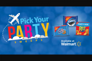 Mondelez Global – Walmart Pick Your Party – Win De Janeiro Brazil