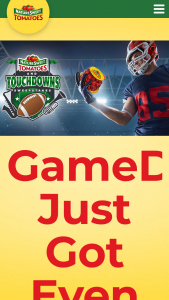 Naturesweet – Tomatoes And Touchdowns – Win a an ultimate college football experience prize package for two (2) Includes two (2) tickets to the Biggest College Game Ever