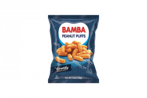 """Osem USA – Gratify Bamba – Win one (1) coupon redeemable for a 2.5 oz bag of Gratify Bamba Peanut Butter Puffs (""""Prize"""")."""