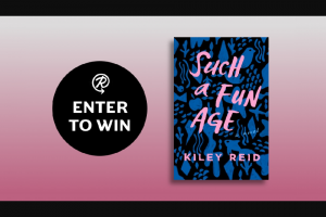 Penguin Random House – Such A Fun Age – Win a copy of Such a Fun Age by Kiley Reid