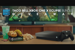 Premiere Networks Bobby Bones Show – Taco Bell Xbox One X Eclipse Bundle Giveaway – Win the following One Xbox One X Eclipse Limited Edition