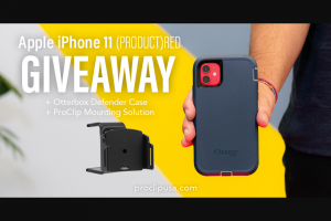 Proclip – Apple Iphone 11  Otterbox Giveaway Sweepstakes