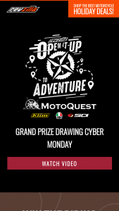 Revzilla – Open It Up To Adventure Sweepstakes