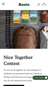 Rootscom – Nice Together Contest Sweepstakes
