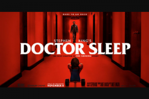 Ryan Seacrest – Doctor Sleep Flyaway – Win day/two night trip for Winner and one guest ARV $5000.00).