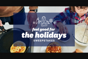 Sunsweet – Feel Good For The Holidays – Win $1000 awarded in the form of a check