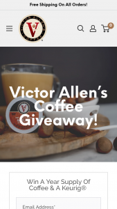 Victor Allen – Coffee Giveaway Sweepstakes