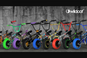 Wildcat Mini Bmx USA – Win A Wildcat Mini Sweepstakes