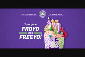 Yogurt Mountain – Free Froyo For A Year – Win Yogurt Mountain Frozen Yogurt for a year